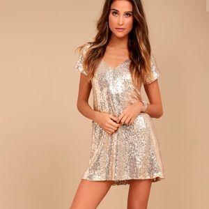 Lulu's Light Up The Night Shift Dress